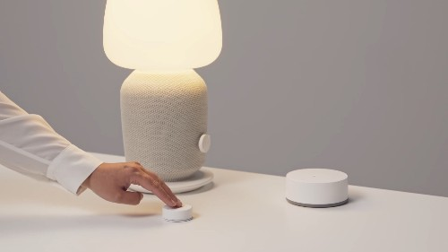 Ikea demonstrates its €15 Sonos remote control, launching soon