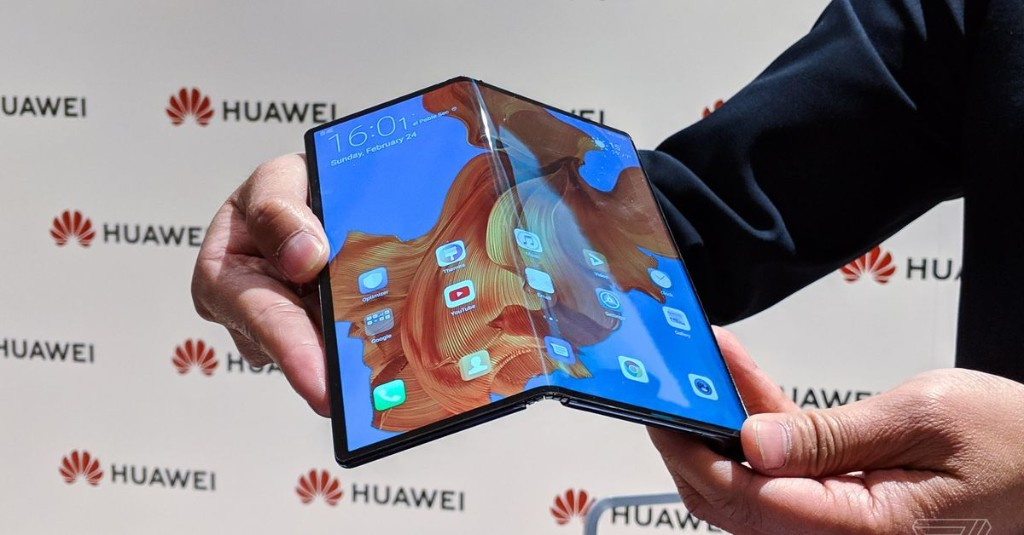 Huawei has the best first draft for a foldable phone