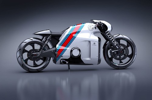 'Tron' designer creates a real-world superbike