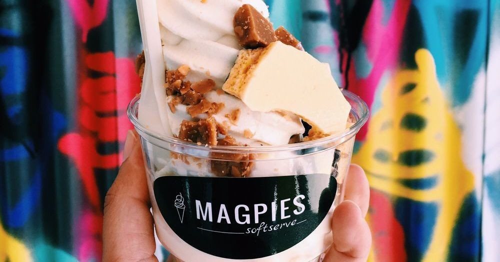 Soft Serve Specialist Magpies Opens Highland Park Location Monday