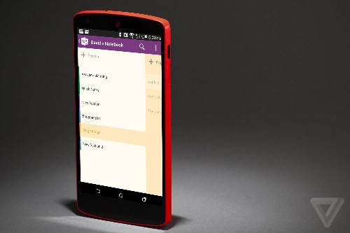 Microsoft backs Android Wear and iOS 8 with new OneNote apps