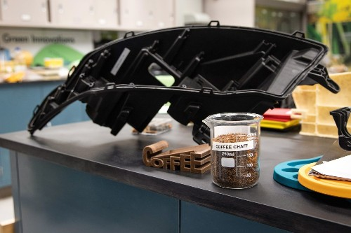 Ford is recycling McDonald's coffee waste into car parts