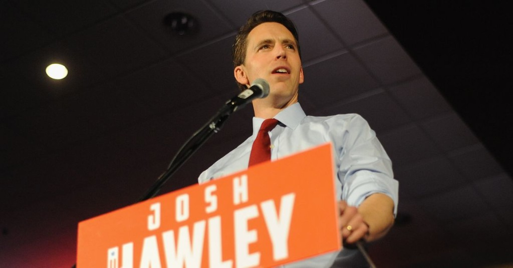 Sen. Josh Hawley wants the government to police Twitter for political bias