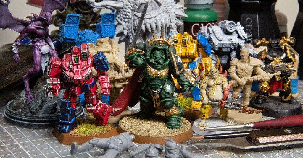 A beginner's guide to buying and painting miniatures