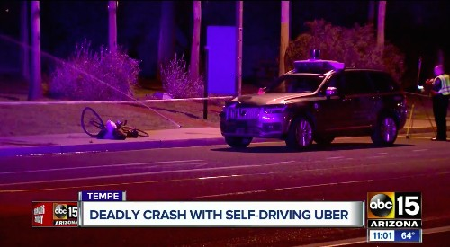 Self-driving car crashes put a dent in consumer trust, poll says