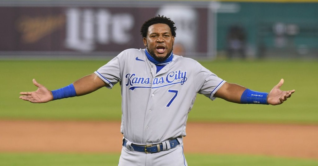 The Royals offense and that familiar sinking feeling
