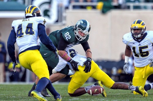 Michigan Can Steal Michigan State's Dream Season on Saturday