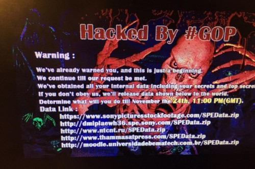 Hackers send mass email threatening Sony employees and their families