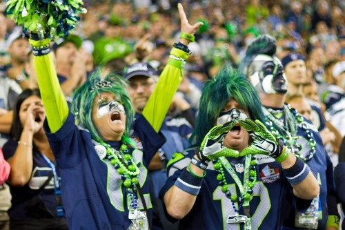 Seattle football fans crush Guinness loudness record with ear-splitting roar