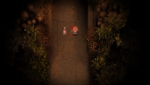 This cute game about a girl and her dog is absolutely terrifying