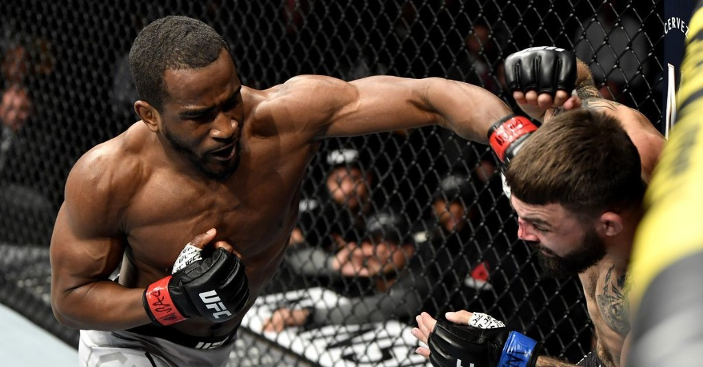 Geoff Neal wants fight with Michael Chiesa: 'He's acting like I'm invisible to him'