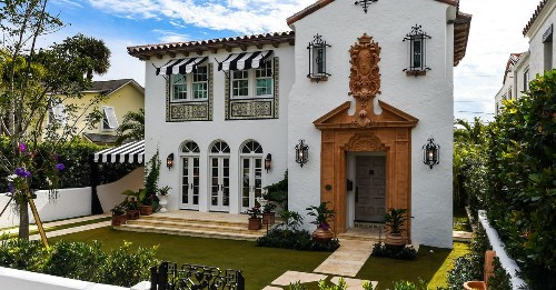 Dramatic Mediterranean Revival home asks $7.5M