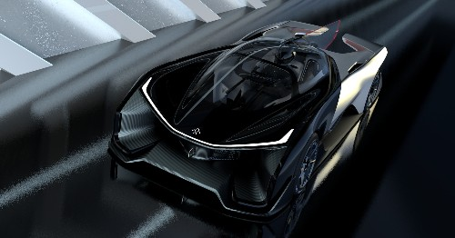 This is Faraday Future's ridiculous 1,000-horsepower electric concept car