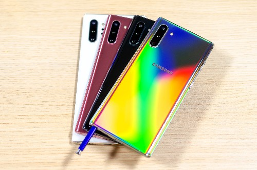 Samsung reaches peak flagship with a blockchain-branded Galaxy Note 10