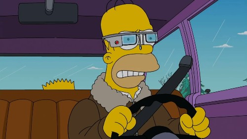 The Simpsons may have the smartest thoughts yet about Google Glass