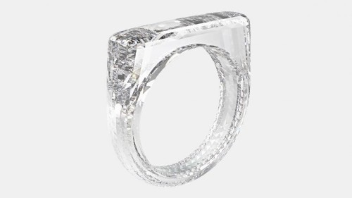 Jony Ive and Marc Newson designed a $250,000 all-diamond ring for charity