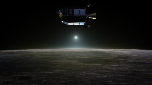 NASA spacecraft slams into dark side of the moon as planned