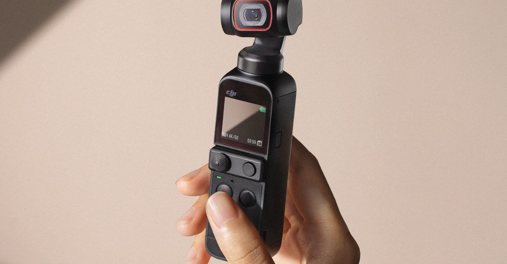DJI Pocket 2 packs more features and more mics into tiny 4K vlogger cam