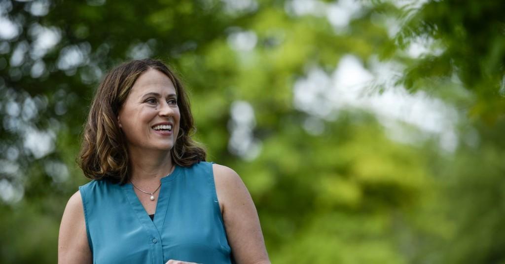 prewrite: Theresa Greenfield has won the Democratic Senate primary in Iowa