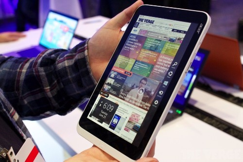 All screens great and small: Windows 8.1 on an 8-inch slate and two Retina Display competitors