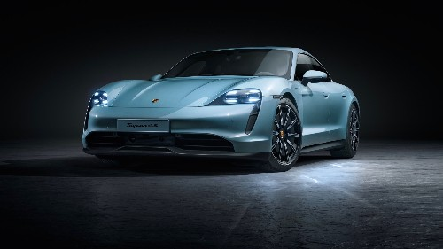 Porsche prices its 'entry-level' Taycan EV at just over $100,000