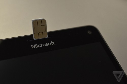 Microsoft is building its own SIM card for Windows