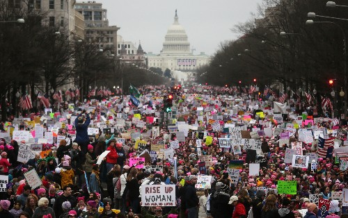 The National Archives edited a Women's March picture to be less critical of Trump