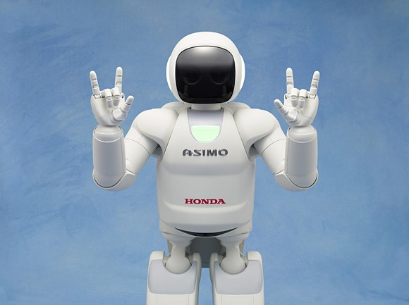 Asimo's AI disappoints in latest performance as it confuses smartphones for hands