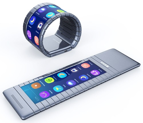 Can an unknown Chinese startup build the world's first bendable screen bracelet phone?