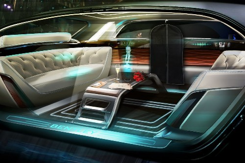 Bentley wants to put a holographic butler in your car