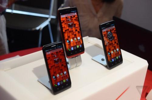 Unlike Moto X, Motorola's new Droids aren't made in the US