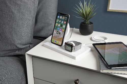 Belkin's Boostup wireless dock can charge three Apple devices at once