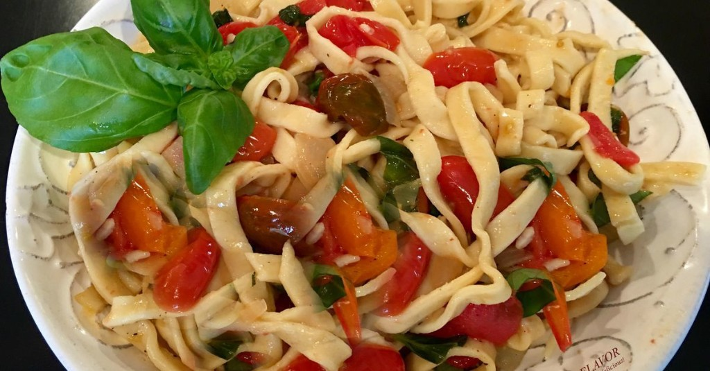 Menu planner: Tomato basil fettuccine is tasty and easy on the budget