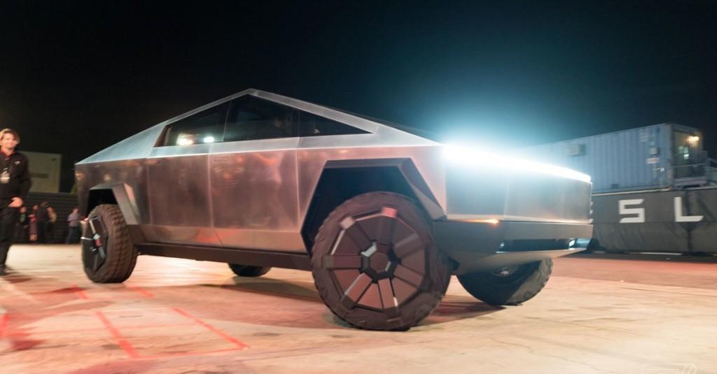 Tesla Cybertruck first ride: inside Elon Musk's electric pickup truck