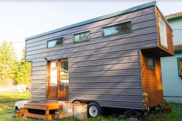 Extra touches make a $37K tiny house on wheels excel