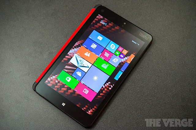 Lenovo's new ThinkPad 8 is the best Windows alternative to the iPad mini Retina
