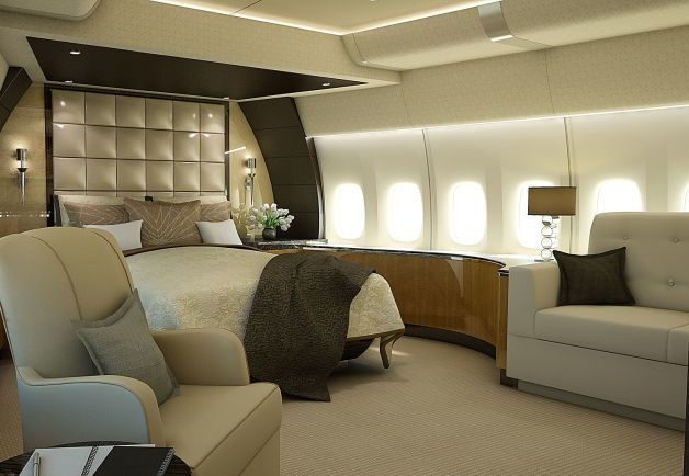Wow, this is a really fancy plane