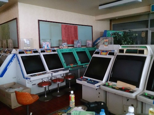 Retro arcade wonderland discovered in old Japanese building