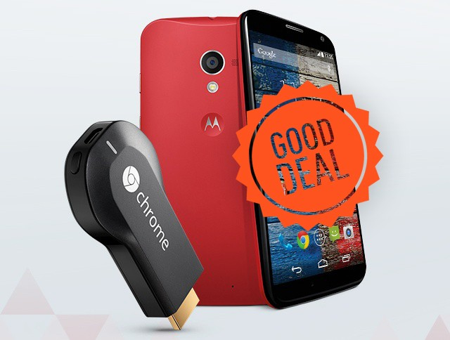 Good deal: Motorola offers free Chromecast with $399 Moto X purchase