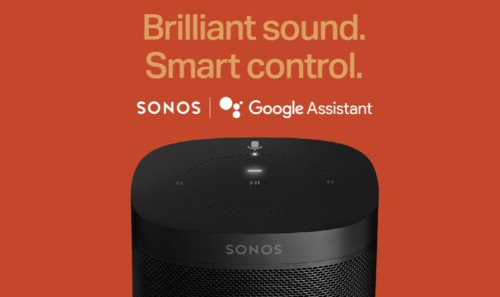 Sonos will launch Google Assistant on its smart speakers next week