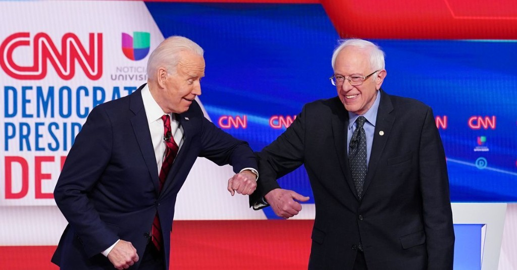 How Joe Biden and Bernie Sanders joined forces to craft a bold, progressive agenda