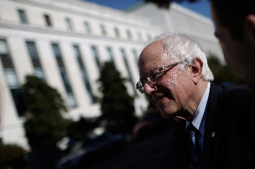 Bernie Sanders introduces legislation to legalize recreational marijuana