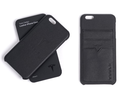 Tesla is selling iPhone cases made from leftover seat leather