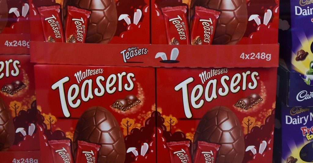 Some People Think Chocolate Easter Eggs Are Not Essential