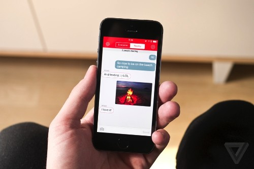 FireChat lets you text friends, even without a signal