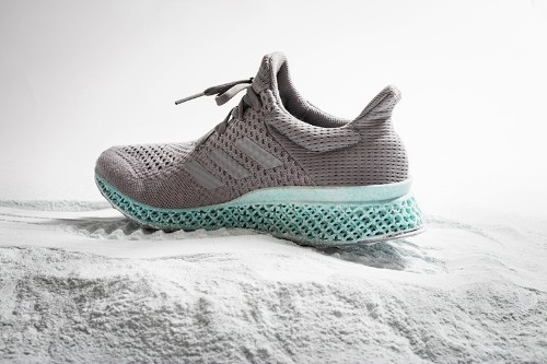 This Adidas 3D-printed sneaker is made from ocean waste