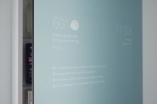I want this Android-powered mirror that a Google engineer invented in his spare time