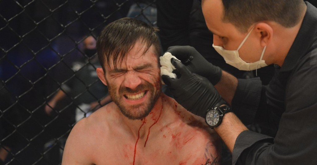 GRAPHIC: Fighter has ear nearly ripped off during title bout at Taura MMA 10