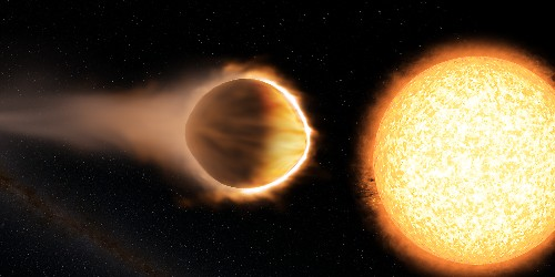 How the discovery of a hot Jupiter's stratosphere could help the search for life on other planets