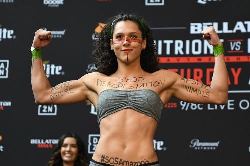 Bellator fighter Alejandra Lara speaks on viral Amazon message